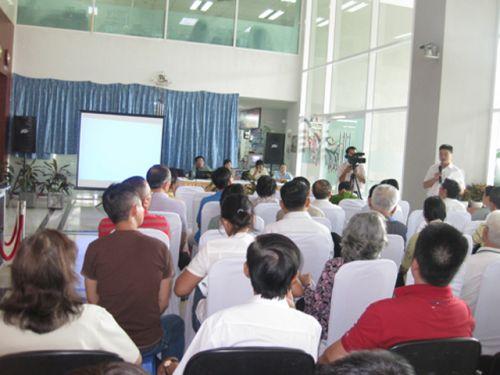 Chương trình hội nghị khách hàng của Công Ty Đầu Tư Thương Mại Phụng Hoàng Cho thuê âm thanh ánh sáng chất lượng tại TPHCM