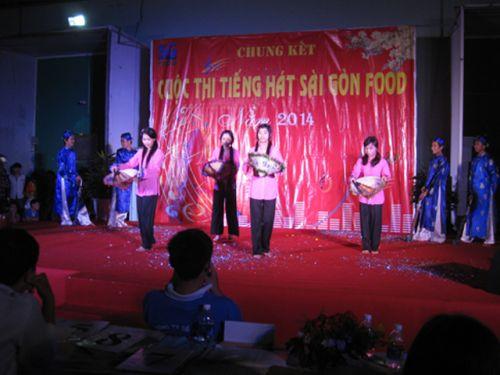 Sự kiện cty Sài Gòn Food Cho thuê âm thanh ánh sáng chất lượng tại TPHCM